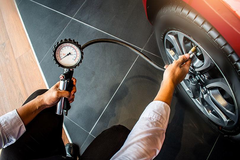 Tlak v pnevmatikah